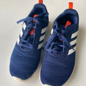 Boys Adidas Size 6 Blue & White Sneakers